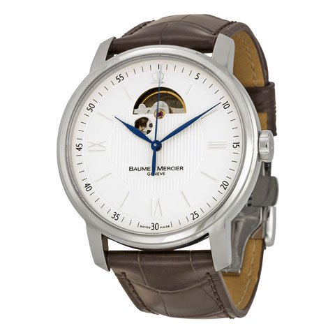 ボーム&メルシエ 腕時計 クラシマ M0A08688 シルバー×ブラウン