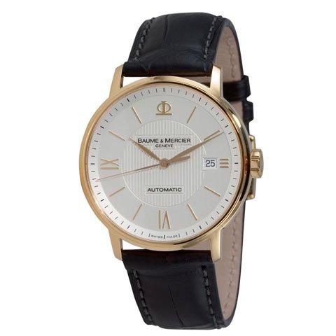ボーム&メルシエ 腕時計 クラシマ M0A08787 シルバー×ブラック
