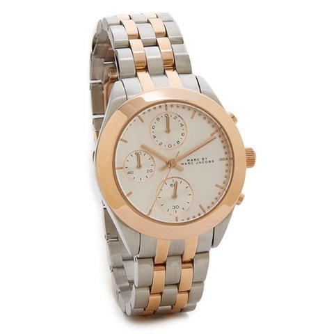 マークバイマークジェイコブス 腕時計 レディース MBM3369 ピーカー シルバー×ピンクゴールド