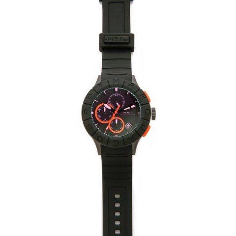 マークバイマークジェイコブス メンズ腕時計 バズトラック MBM5546 偏光ガラス×ブラック