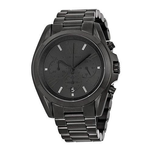 マイケルコース/Michael Kors/メンズ腕時計/ユニセックス腕時計/ブラッドショー/Bradshaw/MK5550 /ブラック×ブラック