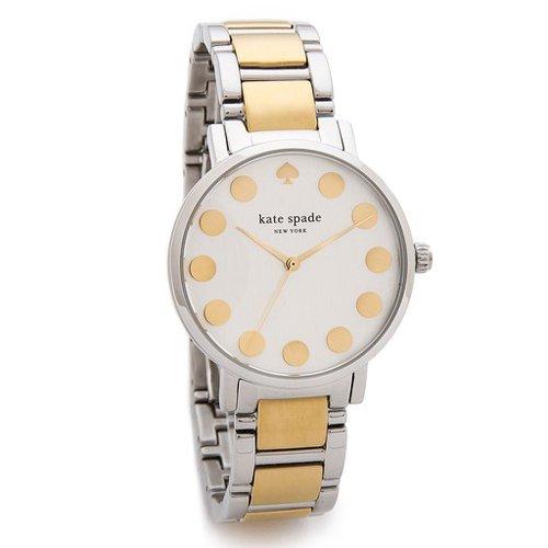 ケイトスペード 腕時計 グラマシー 1YRU0738 ゴールド×シルバー