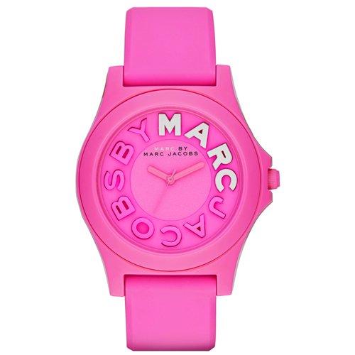 マークバイマークジェイコブス 時計 レディース MBM4023 スローン ピンク×ピンクラバーベルト