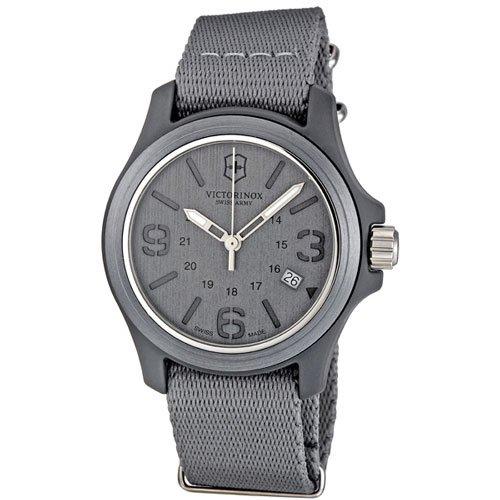 ビクトリノックス 腕時計 オリジナル 241515 グレーダイアル×グレーナイロンベルト