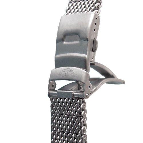 スクワーレ 腕時計 替えベルト 1521コレクション シルバーメッシュベルト
