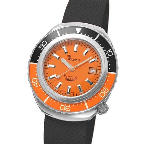 スクワーレ 腕時計 2002コレクション 2002O-R オレンジダイアル×ブラック×オレンジベゼル