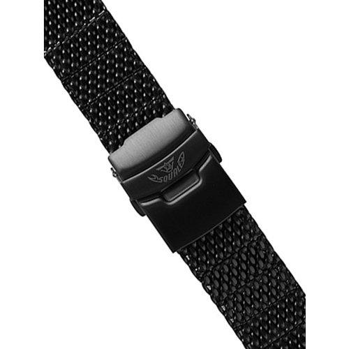 スクワーレ 腕時計 替えベルト 1521コレクション ブラックPVDメッシュベルト