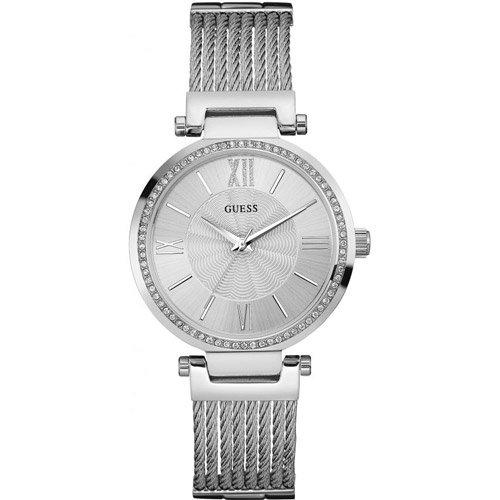 ゲス 腕時計 レディース ソーホー W0638L1 シルバーダイアル×ステンレスベルト