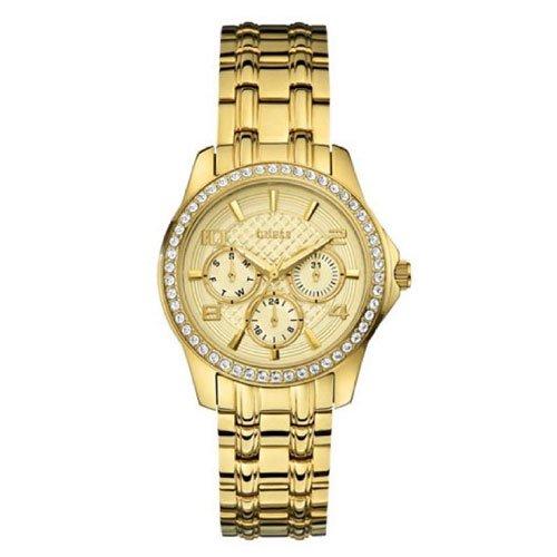 ゲス 腕時計 レディース ミニエグゼック  W0403L2 ゴールドダイアル×ゴールドステンレスベルト