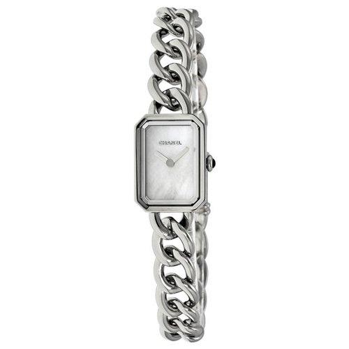 シャネル 腕時計 レディース プルミエール H3249 ホワイトシェル×ステンレススチールベルト