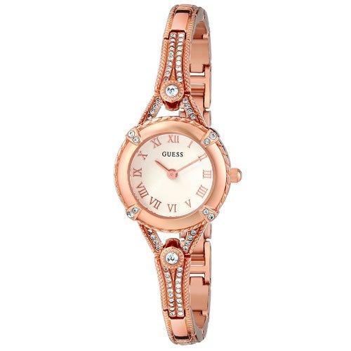 ゲス 腕時計 レディース エンジェリック  W0135L3 ローズゴールドダイアル×ローズゴールドステンレスベルト