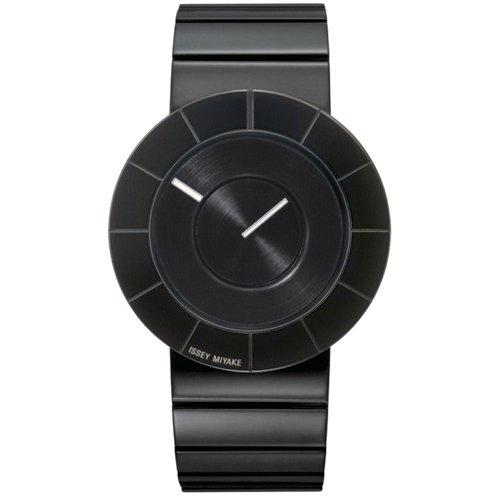 イッセイミヤケ 腕時計 ティー・オー SILAN007 ブラックステンレススチール