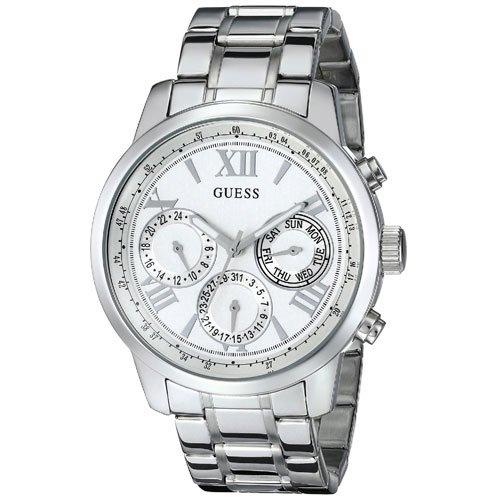 ゲス 腕時計 レディース サンライズ W0330L3 シルバーダイアル×ステンレスベルト
