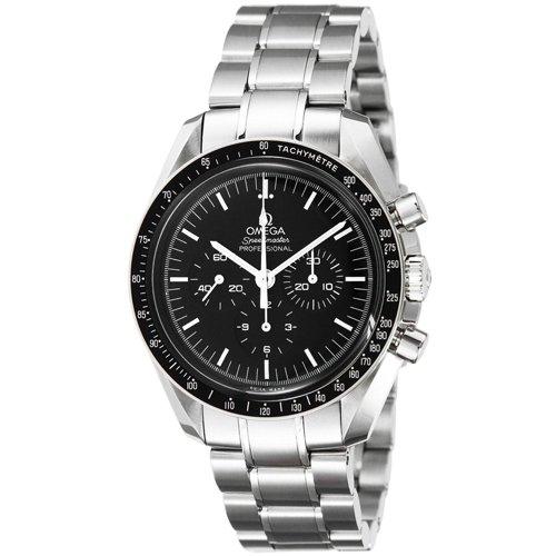 オメガ 腕時計 スピードマスター プロフェッショナル 311.30.42.30.01 ブラック×シルバー