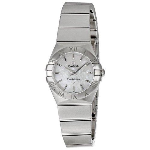 オメガ 腕時計 レディース コンステレーション 123.10.24.60.05.001 マザーオブパール×シルバー