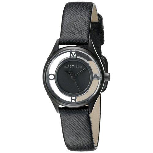 マークバイマークジェイコブス 時計 レディース ティザー MBM1384 ブラックレザーベルト
