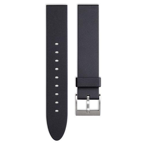 ユニフォームウェアーズ 腕時計 替えベルト ブラックラバーベルト ストレート