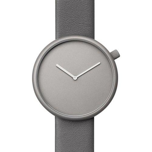 ブルブル 腕時計 Ore 04 グレー×グレーレザーベルト