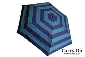 【折】ボーダー晴雨兼用日傘