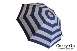 【長】ボーダー晴雨兼用日傘