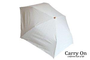 【折】ピンストライプ晴雨兼用日傘