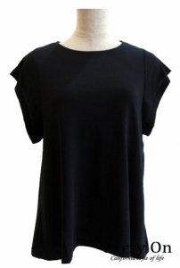バックジップbig袖Tシャツ