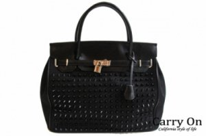 <img class='new_mark_img1' src='https://img.shop-pro.jp/img/new/icons34.gif' style='border:none;display:inline;margin:0px;padding:0px;width:auto;' />【SKY SHORE】JANEスタッズBAG(W40)