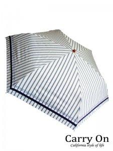 【折】晴雨兼用日傘ストライプ