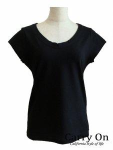 【Praise】プライムクール後VネックTシャツ【Made in Japan】