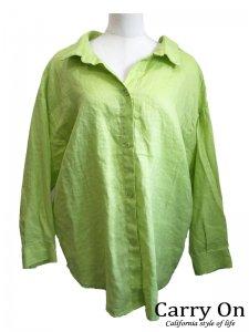 【CYNICAL】麻バックツイストシャツ