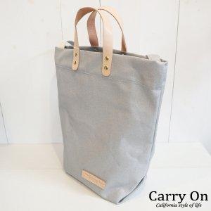 蛍光カラー帆布縦型トートBAG【Made in Japan】