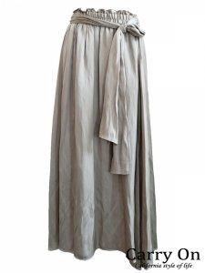 【Hoochie Coochie】ヴィンテージアシンメトリーシャイニースカート【Made in Japan】