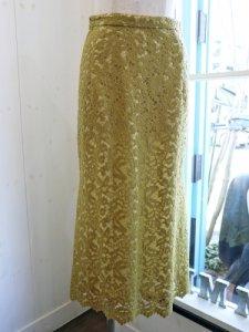 【Lallia Mu】総レースマーメイドスカート【Made in Japan】