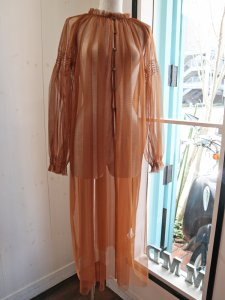 【Acuta】チュール羽織りワンピ【Made in Japan】
