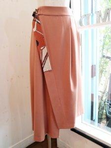 【Lallia Mu】ラップ風アシメスカート【Made in Japan】