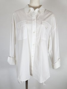 【CYNICAL】タイプライターバックプリーツシャツ