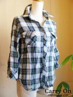 【La chou chou】チェックシャツ