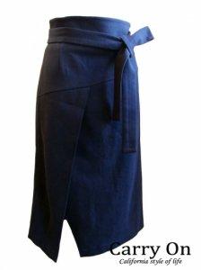 【Praise】ラップ風ハイウェストスカート