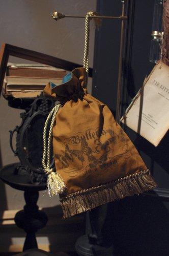 ONEIROMANCY - 夢占いの本の挿絵の巾着 チョウ
