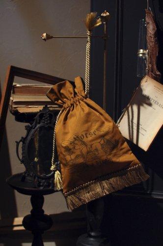 ONEIROMANCY - 夢占いの本の挿絵の巾着 馬