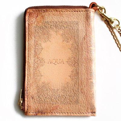 mini Book Wallet012<br>[AQUA]