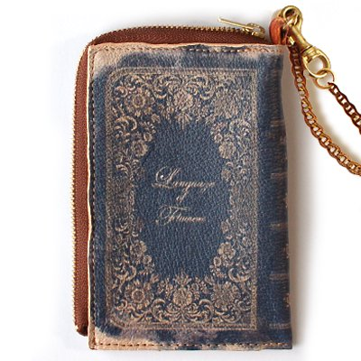 mini Book Wallet010<br>[Language of flower]
