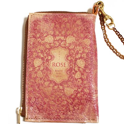 mini Book Wallet013<br>[ROSE]