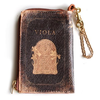 mini Book Wallet013<br>[VIOLA]