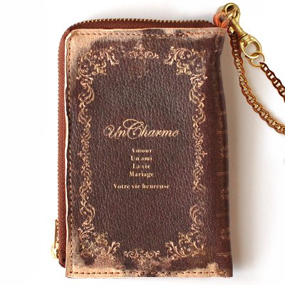 mini Book Wallet010<br>[Un charme]