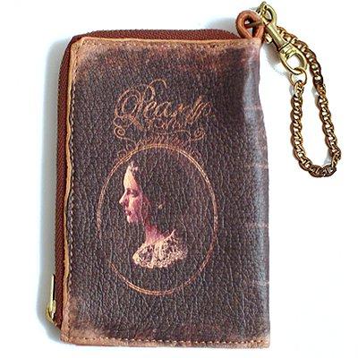 mini Book Wallet011<br>[Pearl]