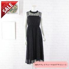 【55%OFF!】結婚式 二次会 ドレス レース |レースミディドレス9号(ブラック)