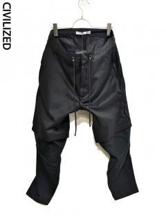 CIVILIZED Survival Layered Pants<img class='new_mark_img2' src='https://img.shop-pro.jp/img/new/icons38.gif' style='border:none;display:inline;margin:0px;padding:0px;width:auto;' />