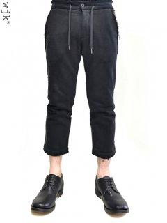 wjk 3/4 Cropped Pants [鬼裏毛]