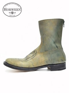 wjk Exclusive Back Zip Boots [SHELL CORDOVAN]<img class='new_mark_img2' src='//img.shop-pro.jp/img/new/icons32.gif' style='border:none;display:inline;margin:0px;padding:0px;width:auto;' />